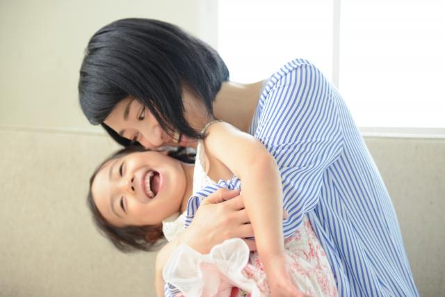 子供との触れ合い