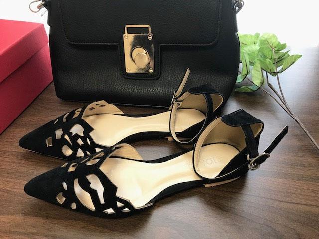 靴とバッグ